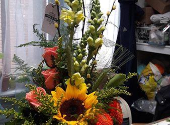 Bloemen op rekening